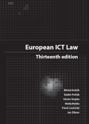 European ICT Law. Texts, Cases, Materials