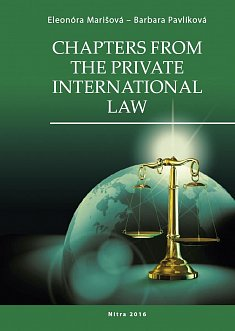 Chapters from the private international law