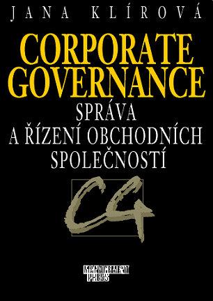 e00c85fb6 Corporate governance - správa a řízení obchodních společností