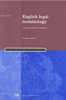 English Legal Terminology: Legal Concepts in Language (Second Edition)