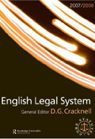 English Legal System 2007-2008: Routledge-Cavendish Core Statutes Series