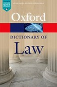 Oxford Dictionary of Law 8 th edition