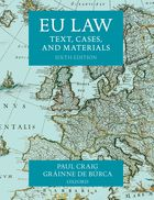 EU Law: Text, Cases, and Materials 6th Edition