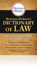 Merriam-Webster´s Dictionary of Law
