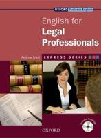 English for Legal Professionals Student´s Book + MultiROM Express Series