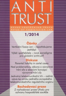 Antitrust č. 1/2014